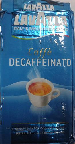 Кофе молотый Lavazza Dek Decaffeinato 250г .