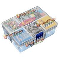 Пластик отсек для хранения 6 прозрачный разборный ящик для инструментов случаев
