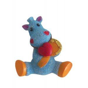 Магнит синяя лошадь символ нового года купить в Харькове с доставкой недорого
