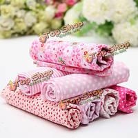 Розовая серия 7 ассорти Шарм хлопок набивной ткани квартал одеяло ткани