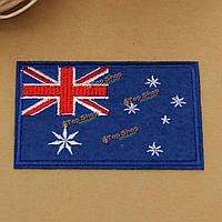 Австралия флаг узор вышитый знак патч поделки значки