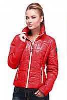 Молодежная модная куртка весна-осень, стильная красивая, стеганка, Харьков,  Касабланка, 9444ea06aff