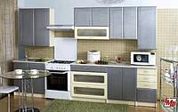 Кухня Галактика металлик МДФ 2.0 м