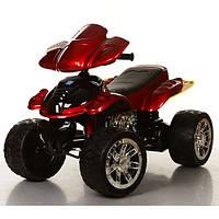 Детский квадроцикл M 2403ERS-3 колеса EVA, автопокраска красный
