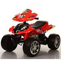 Детский квадроцикл M 2403ER-3 колеса EVA, красный