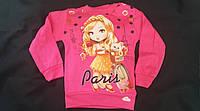Розовый свитерок для девочки, 4-8 лет, 105/95 (цена за 1 шт. + 10 гр.)