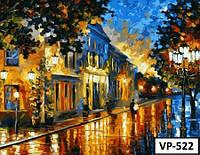 Картина на холсте по номерам VP522 40x50см