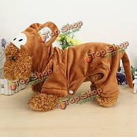 Зимний питомец собака кошка обезьяна передачи партии хлопка костюм куртка комбинезон