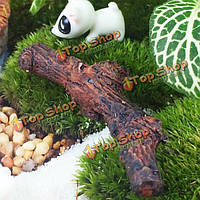Смолы ствол дерева микро-ландшафтный сад сочные DIY украшения