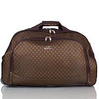 Сумка дорожная RUIXINGDA Дорожная сумка большая на 2-х колесах RUIXINGDA TU123L-brown