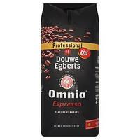 Кофе в зёрнах Douwe Egberts Omnia Espresso , 1кг