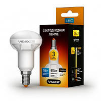 LED лампа Videx R50 5W E14 3000K 220V (VL-R50-05143), фото 1