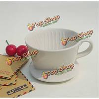 101 автоматическая керамический фильтр для кофе чашки-применяется с фильтровальной бумаги