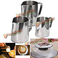 Кофе капучино чай с молоком вспенивания кувшин гирлянды чашки латте кувшин ремесло