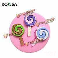KCASA™ силиконовые леденец помадная прессформы украшения торта прессформы gumpaste sugarpaste прессформы УЛХ LFGB