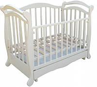 Детская кроватка Трия Verona маятник+ящик (слоновая кость)