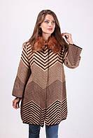 Женское пальто-трапеция, фото 1