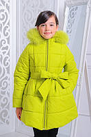 Куртка «Анжелика», лайм