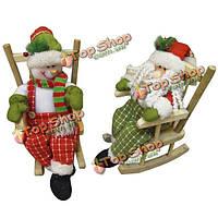 Игрушка сувенир Снеговик, Дед Мороз