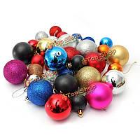 16шт рождественское рождественское украшение шара художественного оформления шара рождественской елки