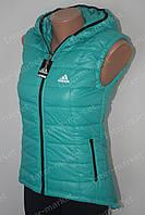 Женская спортивная жилетка безрукавка  ADIDAS