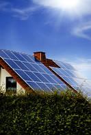 Автономная система электроснабжения коттеджей набазе солнечныхбатарей