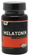 Мелатонин Optimum Nutrition 100 tab (гормон для регяляции суточных ритмов, сна)