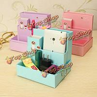 DIY сборная бумажная коробка ящик для хранения предметов