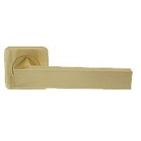 Дверная ручка на розетке Armadillo Corsica SQ003-21SG-1 матовое золото