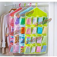 Мешок хранения 16 карман над дверью висит мешок для обуви организатор носки игрушки вешалка