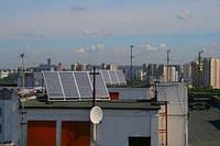 Автономная система освещения помещений ЖКХ на базе солнечных батарей