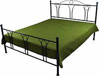 Покрывало на кровать декоративное зеленое 215х240 см