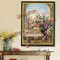 30x40см 5D розовая роза DIY алмазов картина рукоделием горный хрусталь комплект крестиком