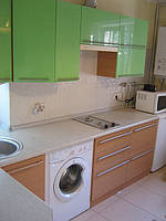 Кухня бук/ эвкалипт глянец, фото 1