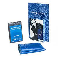 Мини-парфюм в чехле Blue Label 20 мл, фото 1