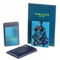 Мини-парфюм в чехле VERSACE Eros Men 20 мл, фото 1