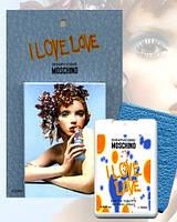 Пробник духов в чехле Moschino I love love  20 мл