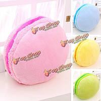 Милый творческий Macaron плюшевых теплый бросить подушку красочный круглый подарок подушки