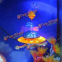 Оформление аквариума действий-воздушный аквариум орнамент НЛО
