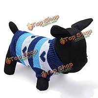 Сердце типа водолазка собаку трикотажные дышащие свитера и пиджаки