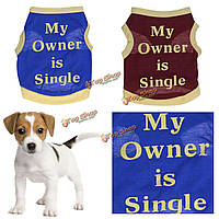 Собака кошка щенок жилет футболку пальто любимчика одежды лета одежды костюмы горячие новые весна лето одежда
