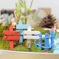 Микро-ландшафтных украшений мини деревянный дорожный указатель сад ландшафтный дизайн