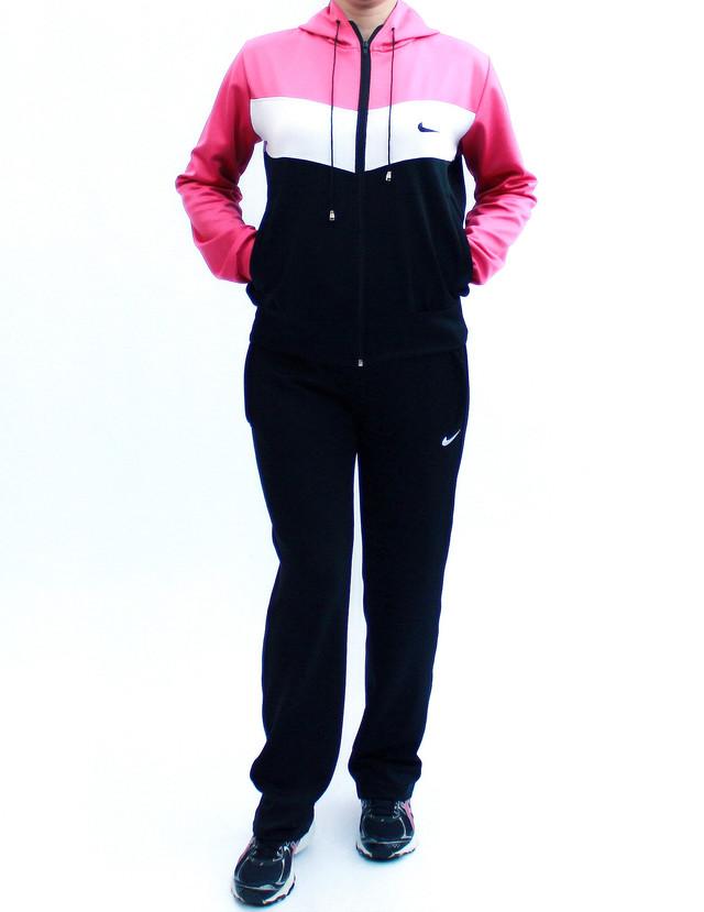 трикотажный женский спортивный костюм с малиновым верхом фото teens.ua