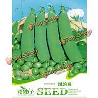 30шт снег семена гороха зеленая фасоль семена овощных