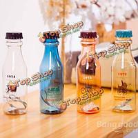 450мл Корея канцелярские пластиковых Аббатство Даунтон соды бутылки