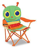 """Раскладной детский стульчик """"Счастливая стрекоза"""", Melissa&Doug"""