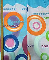 Бязь с яркими разноцветными кругами, фото 1