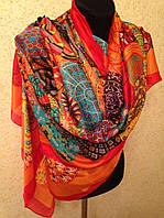 Очень широкий шарф 2790 (цв 4)