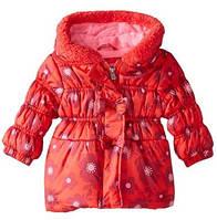 Демисезонная куртка  Pink Platinum(США) для девочки 12мес, 18мес