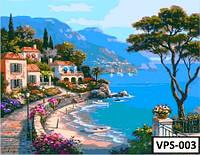 Картина на холсте по номерам VPS003 50x65см